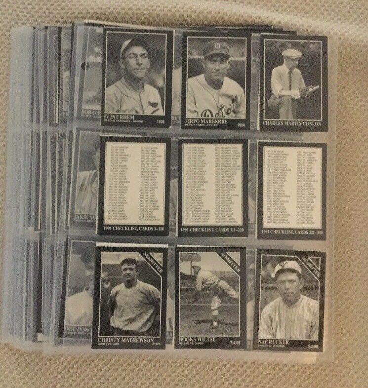 19911994 The Sporting News Conlon Collection Baseball