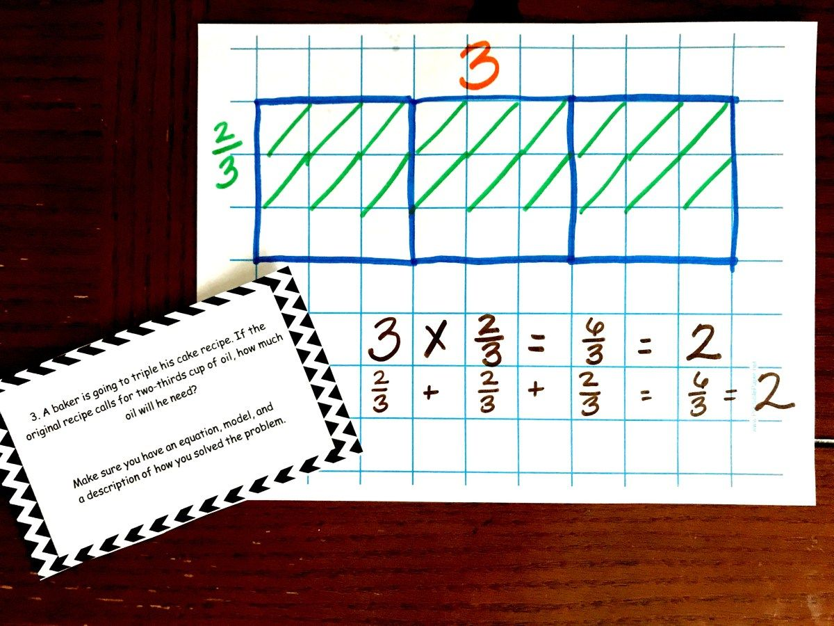 20 Word Problems For Multiplying Fractions By Whole