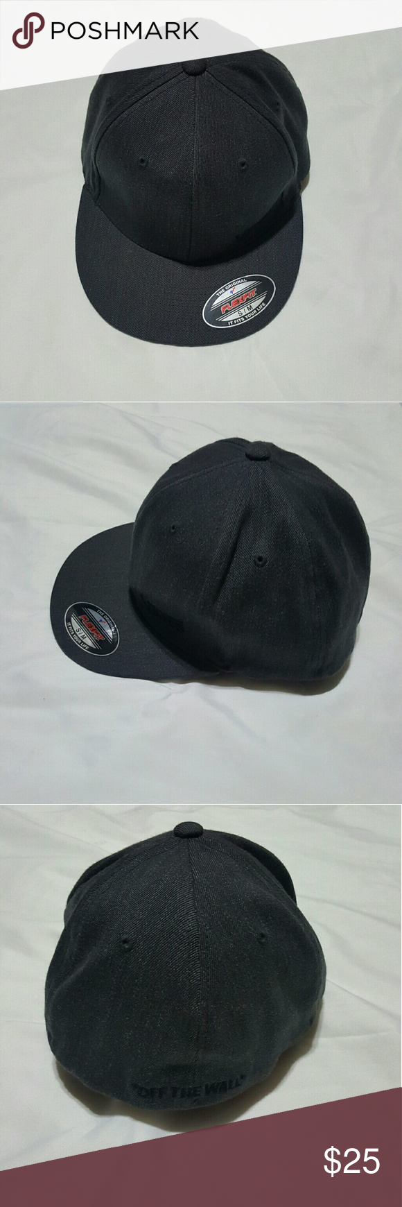 10daad43 Vans Splitz Flex Fit Hat (Charcoal Heather) Vans Splitz Cap - Sometimes,  simple