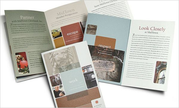 20+ New Beautiful Corporate Brochure Design Ideas \/ Examples - brochure design idea example