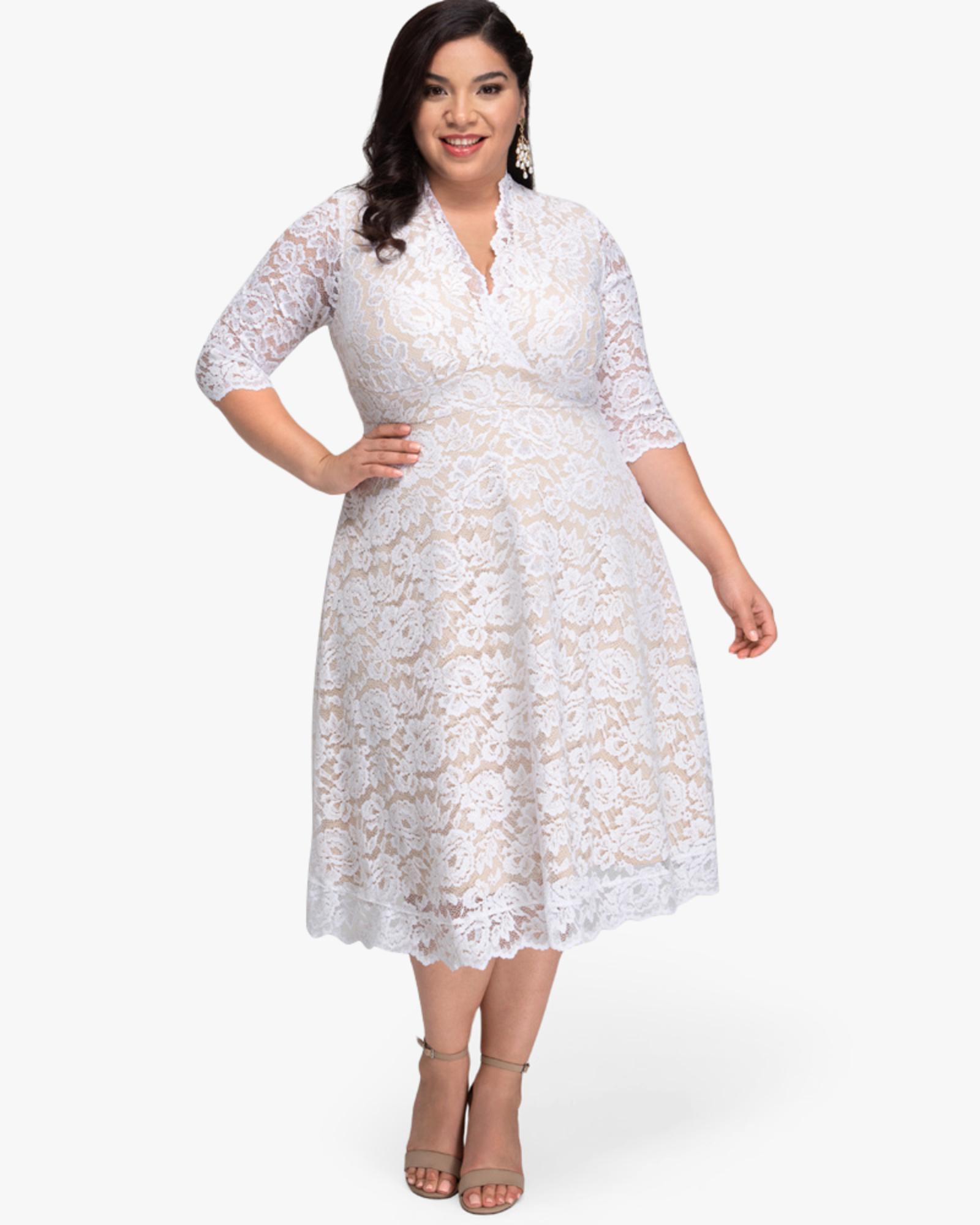 Shalee Plus Size Lace Dress Dia Co Plus Size Lace Dress Lace Dress With Sleeves Lace Dress [ 2000 x 1600 Pixel ]