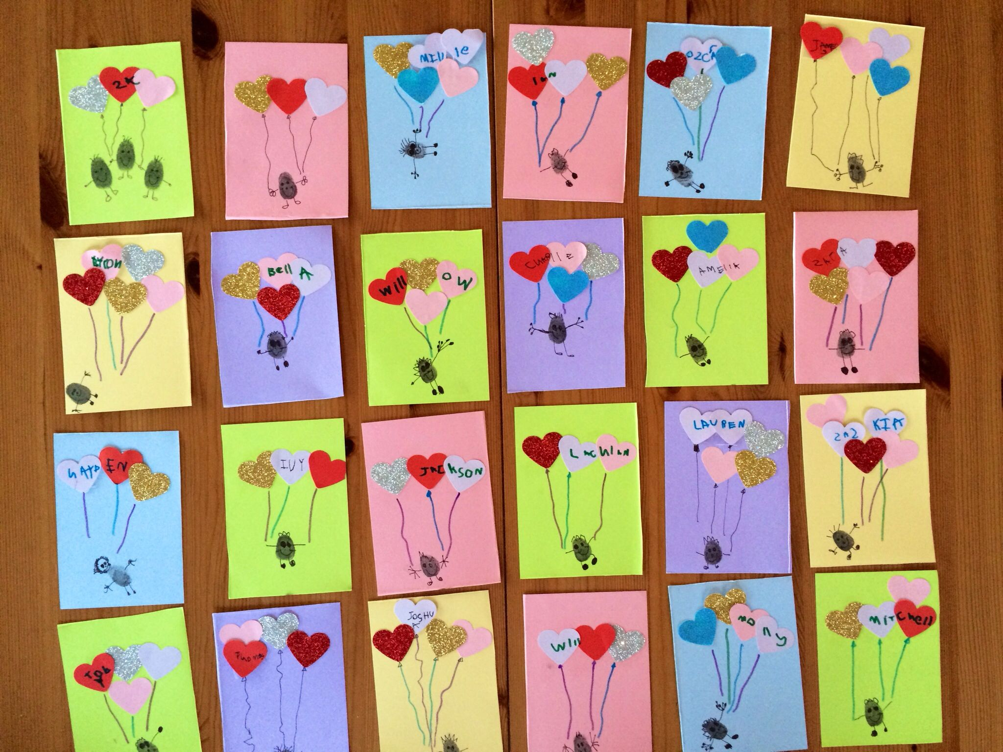 valentine cards for 2 year olds