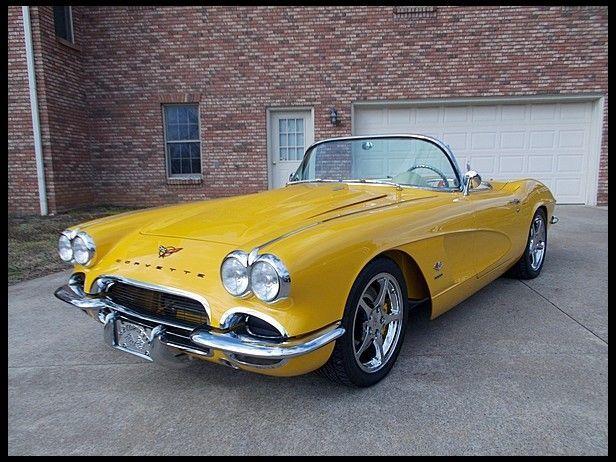 1962 Chevrolet Corvette Chevrolet Corvette Retro Cars Corvette