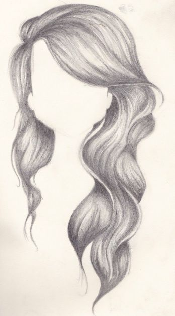 Wavy Hair Pencil || Tonal Drawing Created by || Rachel ...