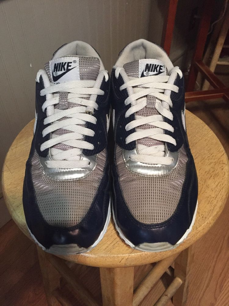 39aad702c3 nike air max 90 essential Navy Blue #fashion #clothing #shoes #accessories  #mensshoes #athleticshoes (ebay link)