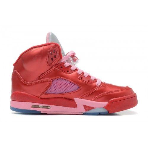 440892-605 Air Jordan 5 Gym RedIon Pink Women Price: $104.89 http://www.theblueretros.com/
