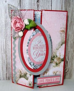 Artfull Crafts Betsy Christmas Card Class Using Silver Bells