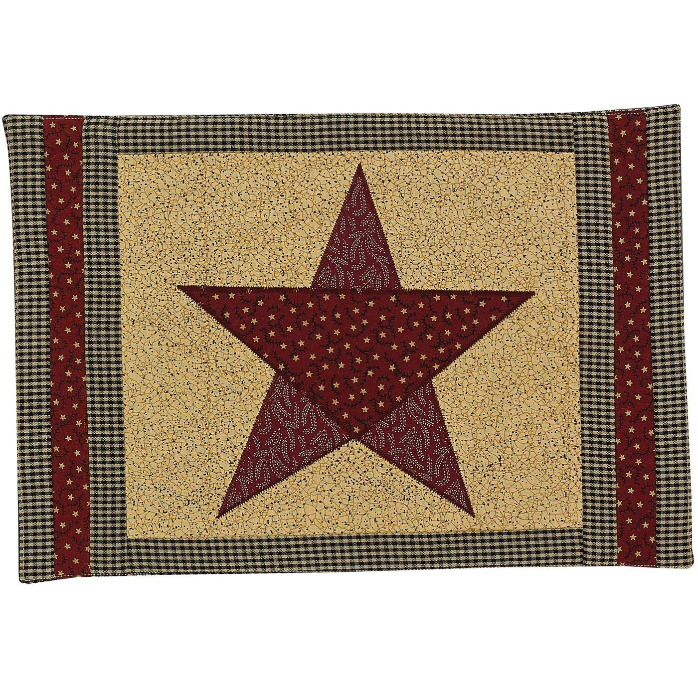 Country Star Placemats Set Of 4 373 01 Placemats Park Designs Country Stars
