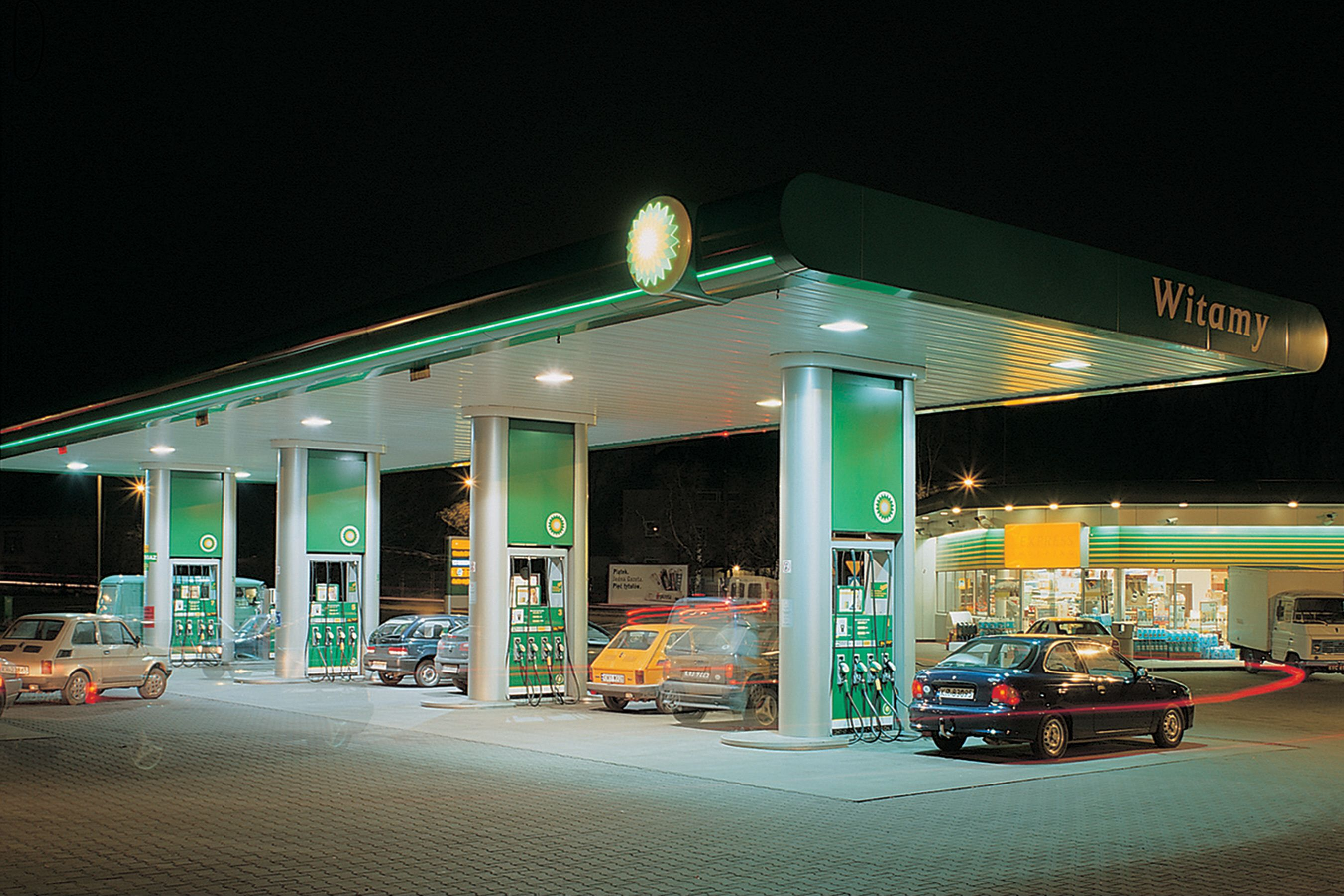 Bp Gas Station Industrial Trend Bp Gas Gas Station