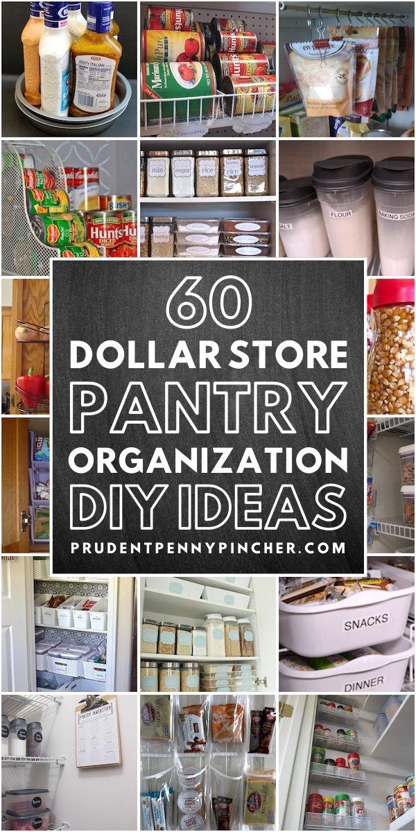 60 dollar store diy pantry organization ideas dollar stores pantry organization pantry labels on kitchen organization diy id=92745
