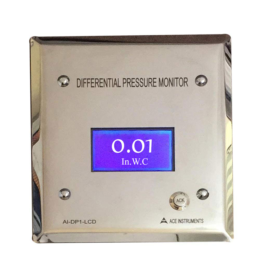 Isolation Room Differential Pressure Monitor in 2020 (With