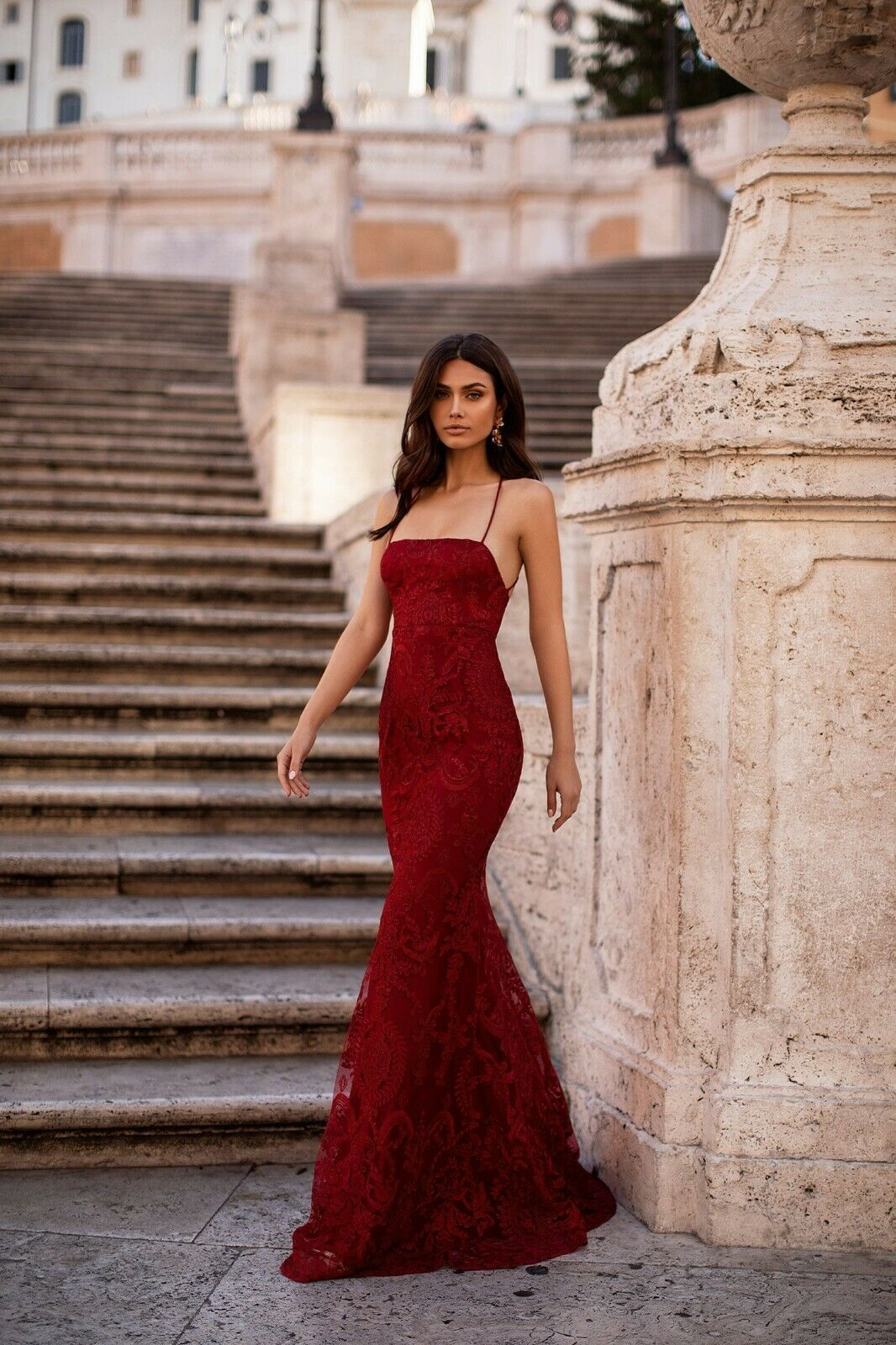 Alamour The Label Alessandra Wine Red Shimmer Gown Xxs In 2020 Formal Dresses Classy Red Dresses Classy Pretty Prom Dresses
