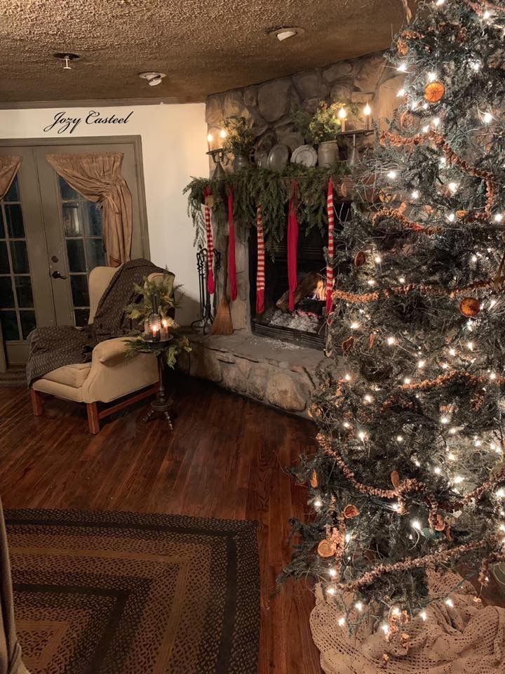 Christmas at the Casteel home, circa 2018. Absolutely love