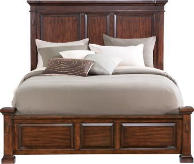 Clairfield Tobacco 3 Pc King Panel Bed 599 99 90 25l X 85w X 60h Find Affordable Beds For Your H King Size Bedroom Furniture Sets Panel Bed Queen Panel Beds