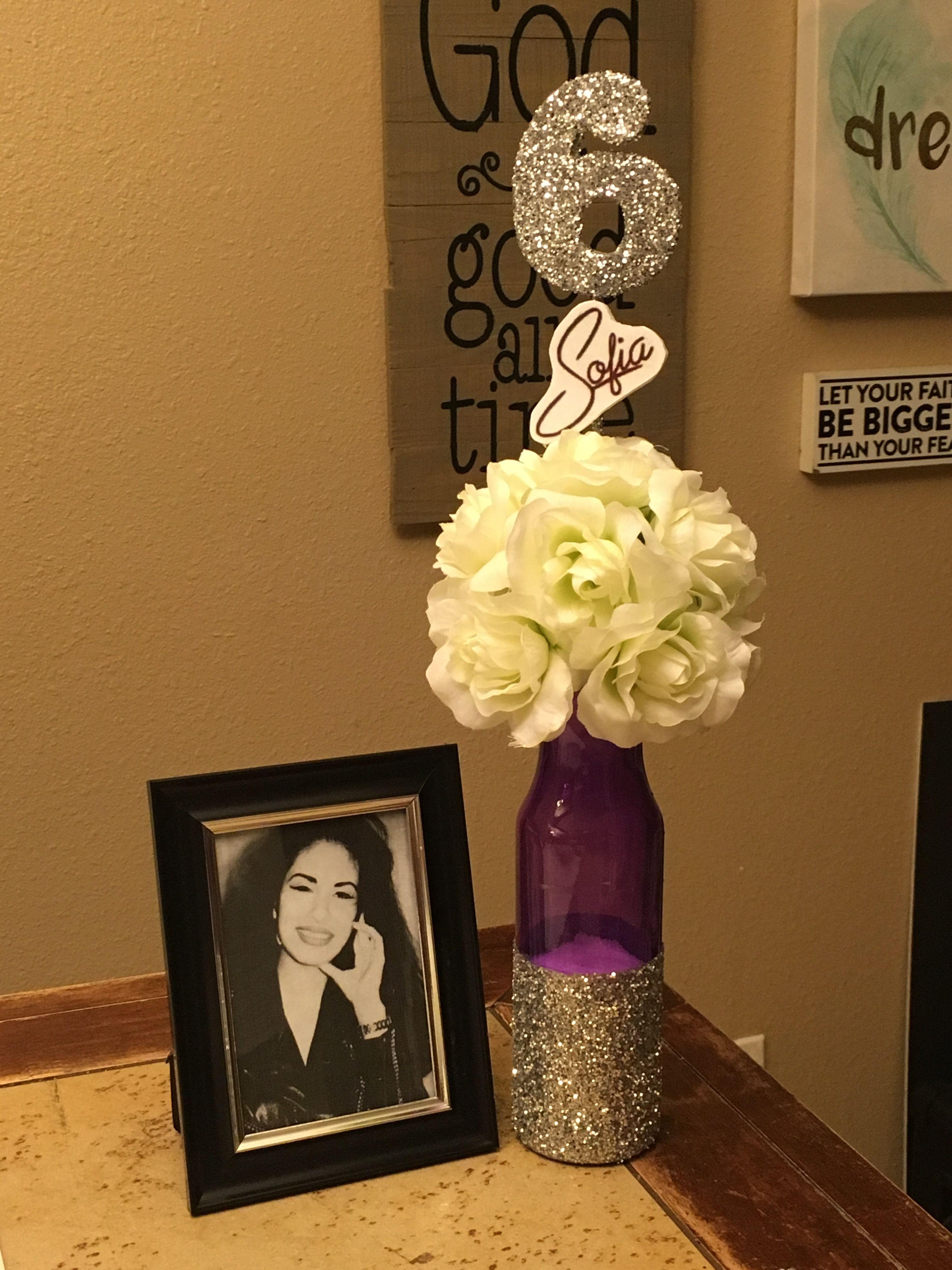 Selena Quintanilla party centerpieces Selena quintanilla