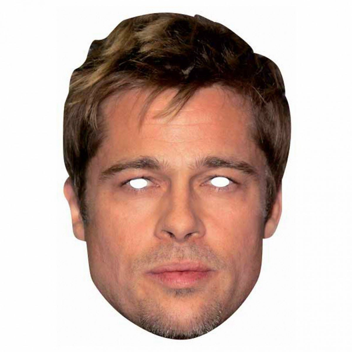 Card Face and Fancy Dress Mask David Gandy Celebrity Mask