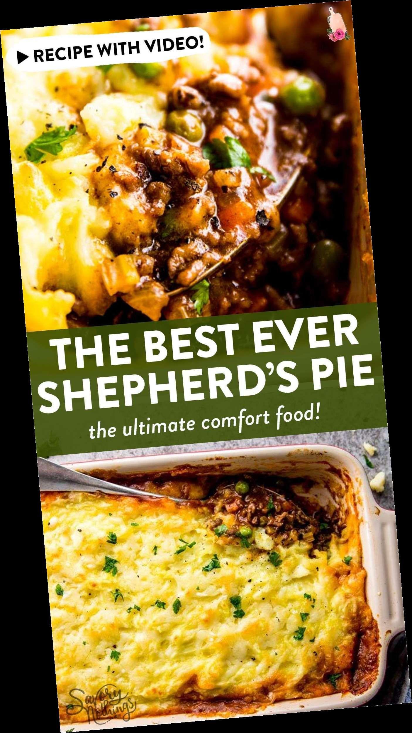 +19 Shepherds Pie Recipe The Best Homemade Shepherd's Pie Recipe