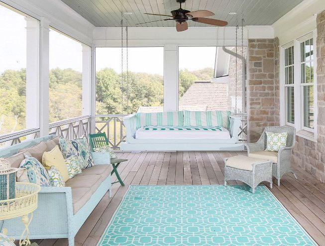 Porch Swing Beach House Porch Swing Shingle Beach House With