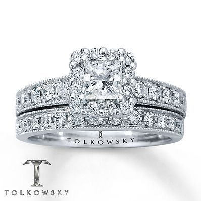 10 Stunning Bridal Sets From Kay Jewelers Kay Jewelers Engagement Rings Kay Jewelers Bridal Sets Wedding Ring Trio Sets