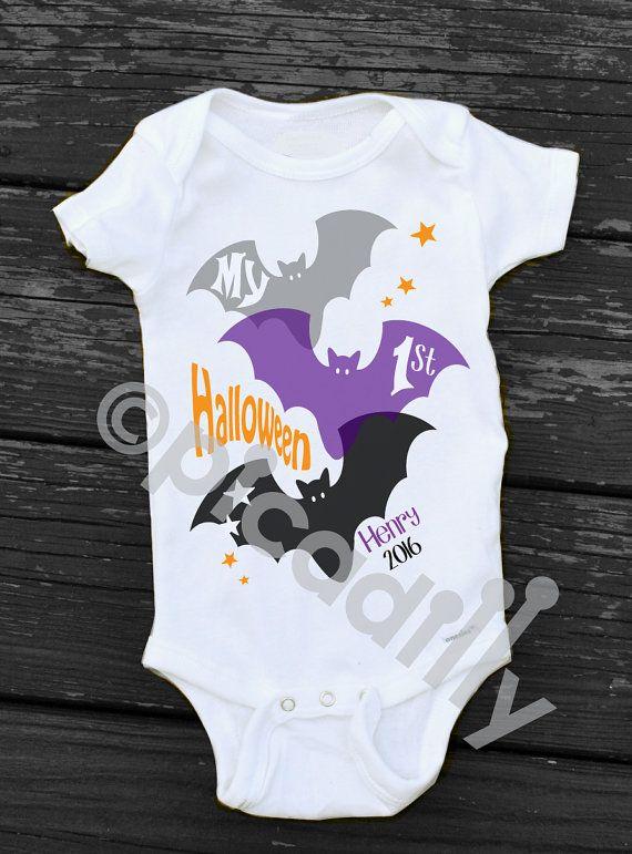 cac9d6b1774c First Halloween onesie - etsy
