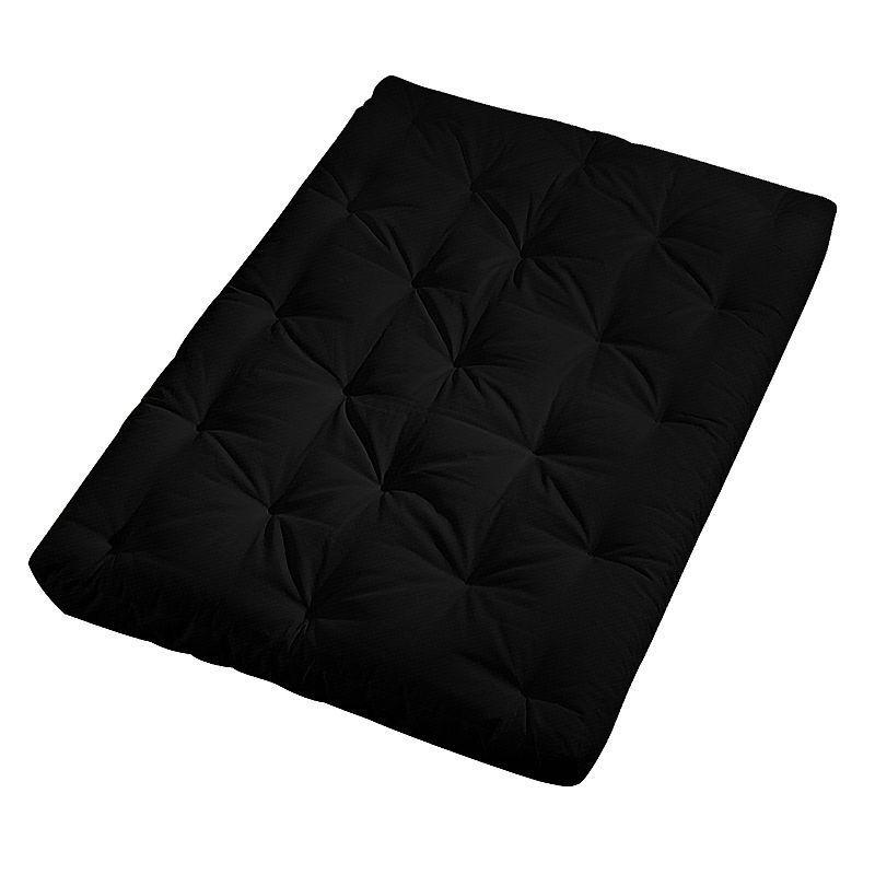 Amazing Serta Futon Mattress Black Color