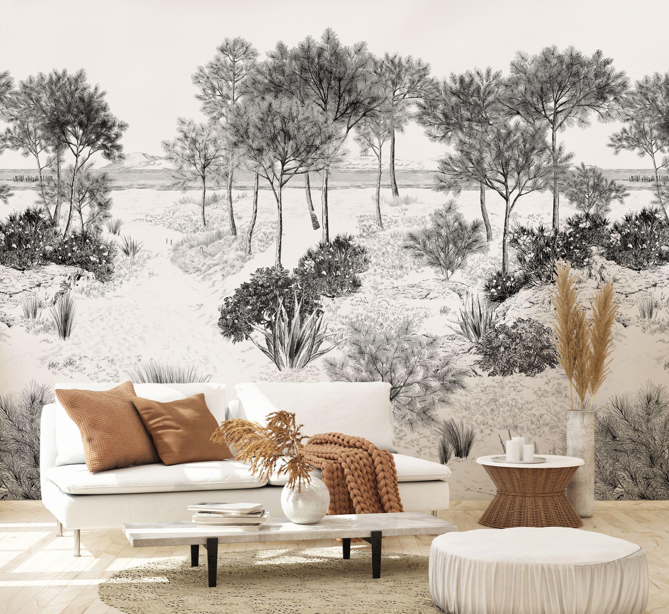 Dune en 2020   Papier peint panoramique, Papier peint paysage et Décoration monochrome