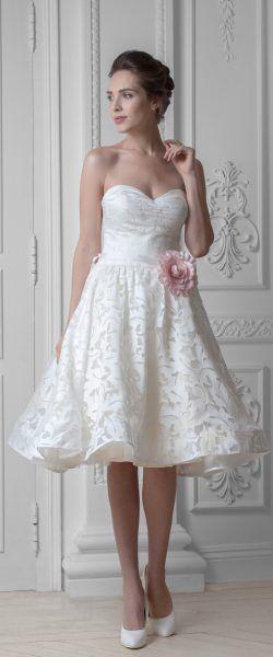 Dovita5 (mit Bildern) | Brautkleid knielang, Kurzes ...