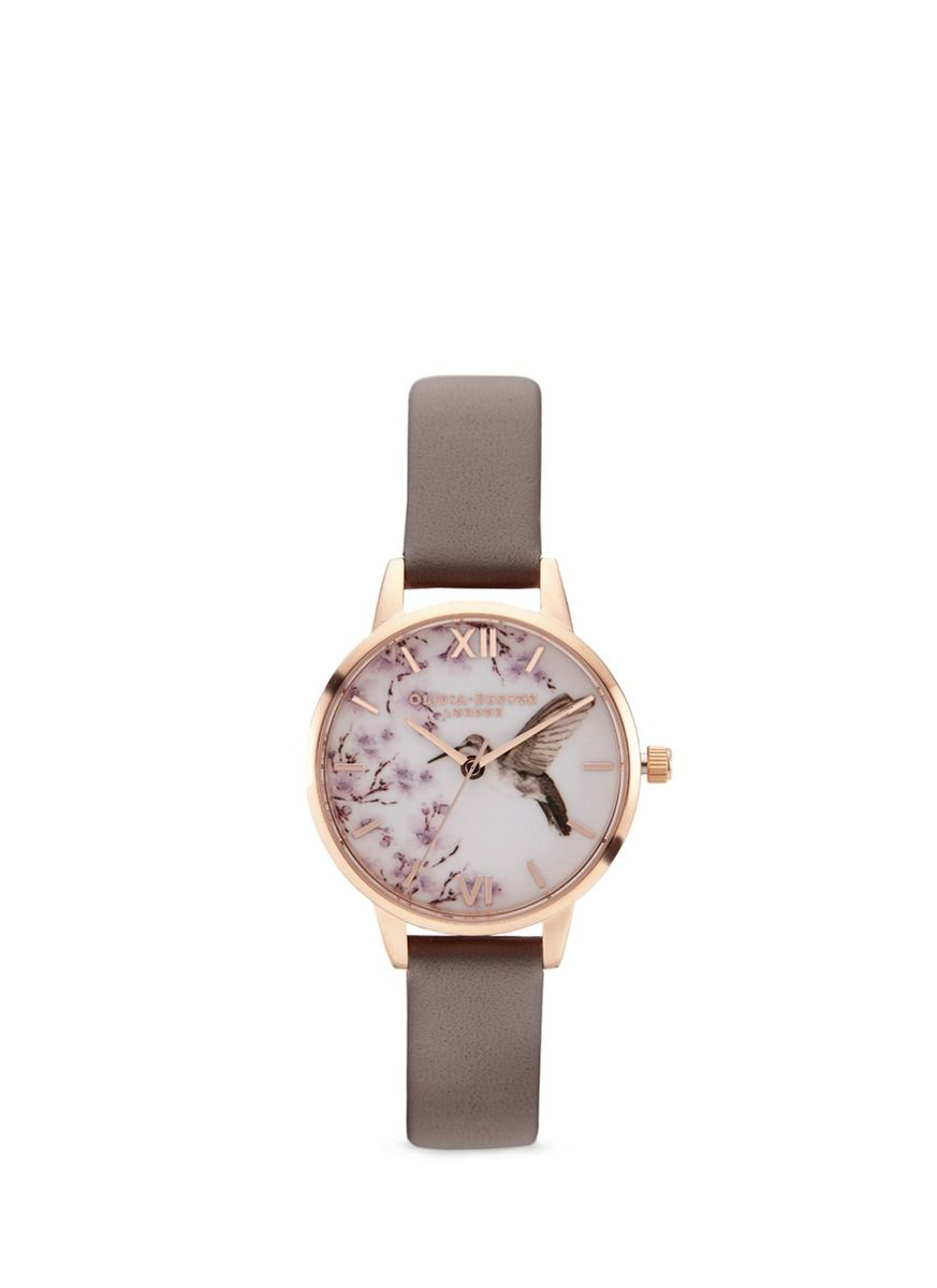 burton painterly pin jewelry prints watches olivia watch hummingbird