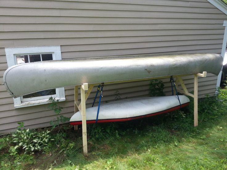 Canoe and Kayak Storage Rack Canoe storage, Kayak