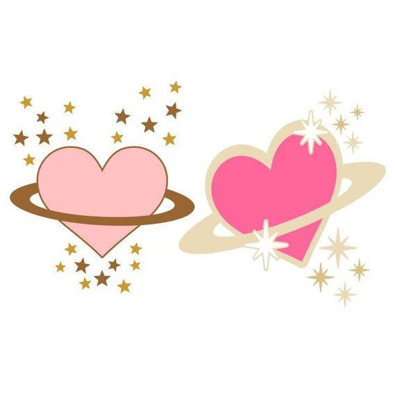 Download Heart Planet Love Cuttable Design SVG PNG DXF & eps ...