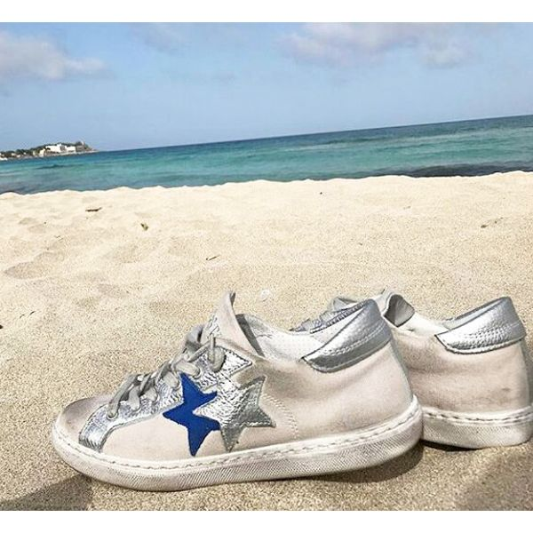 Let the sea, set you free  #2starcollection #2starlifestyle #new #Spring #Summer #collection #low #sneaker #sneakers #blue #silver #white #glitter #sparkling #brushed #effect #shoe #shoes #style #trend #fashion #glamorous #woman #girl #sea #freedom #mood #instacool