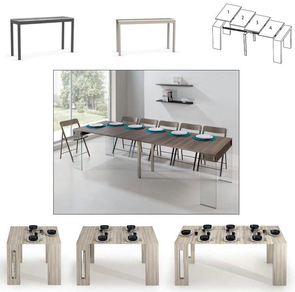 Collection De 45 Modeles Extensibles Jusqu A 10 Couverts Disponibles Avec Les Allonge Console Extensible Canape Rapido Et Table Salle A Manger