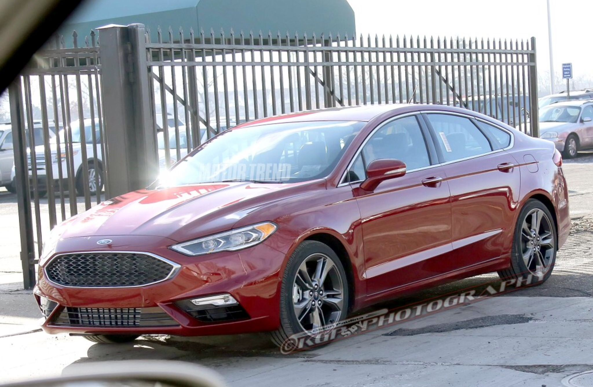 2017 Ford Fusion Ford Fusion Ford Mondeo Ford