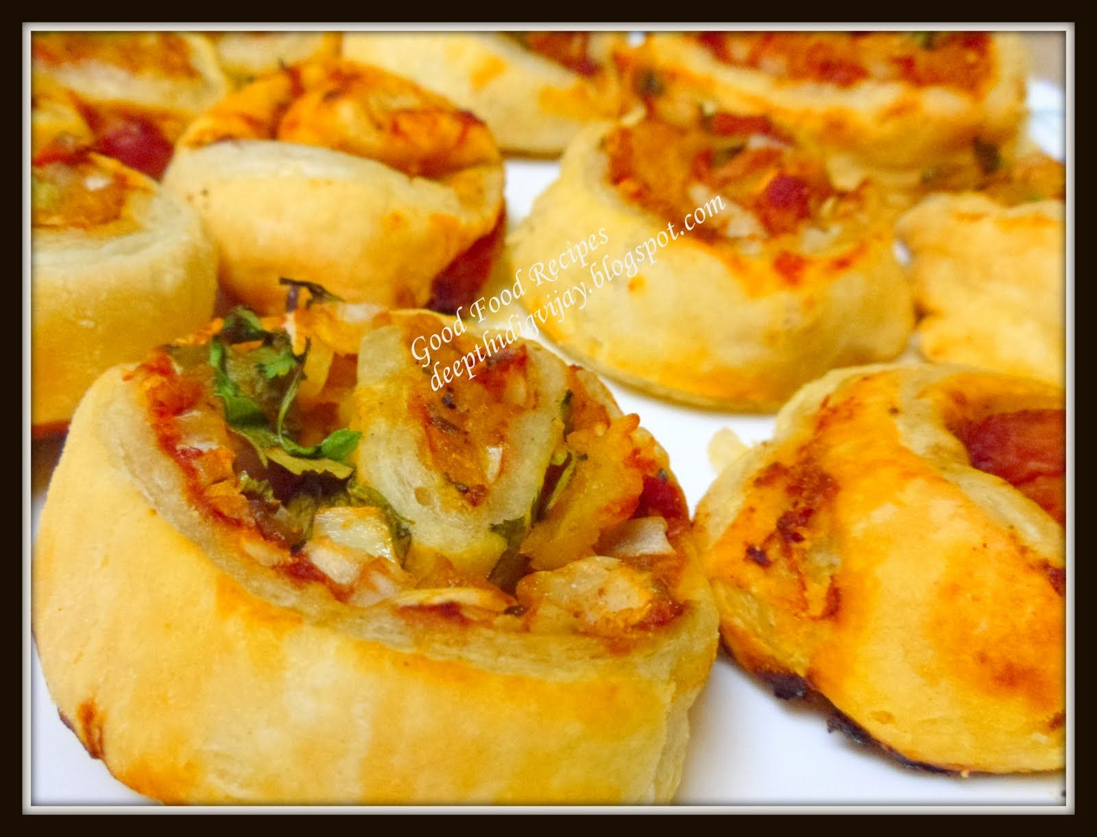 Good food recipes vegetable pastry pin wheels in indian style vegetable pastry pin wheels in indian style forumfinder Gallery