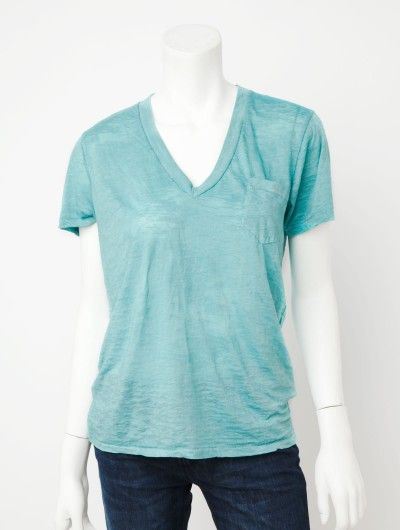 Soft pocket tee - love the color!