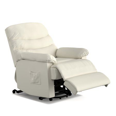 Ordway Wall Hugger Power Recliner And Lift Chair In Cream