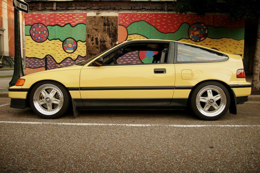 1989 Honda CRX Si   Cars   Pinterest   Honda crx, Honda and Cars
