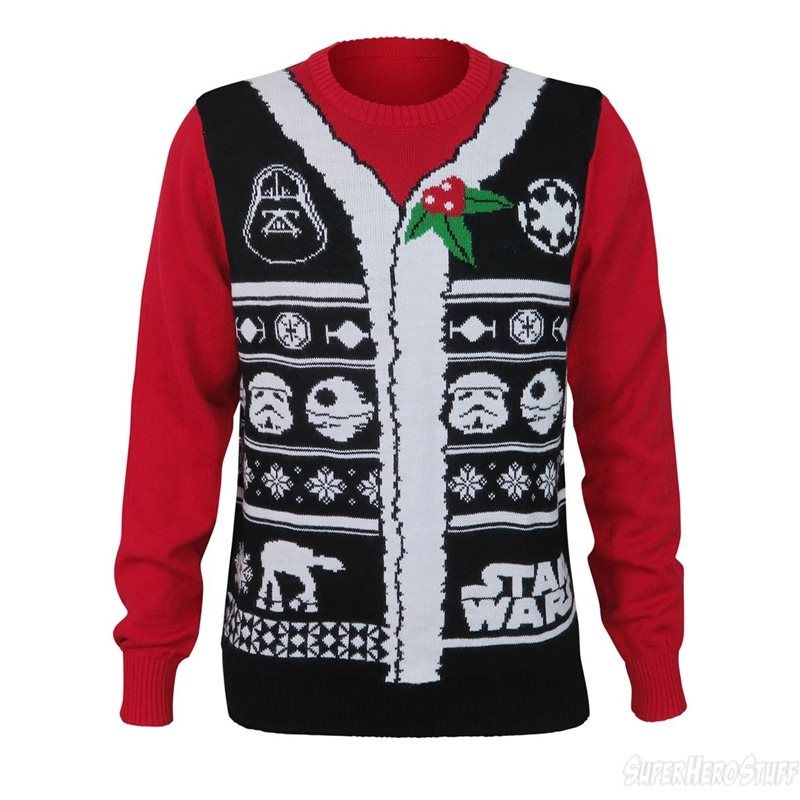 Star Wars Empire Men's Ugly Christmas Sweater | Star wars darth