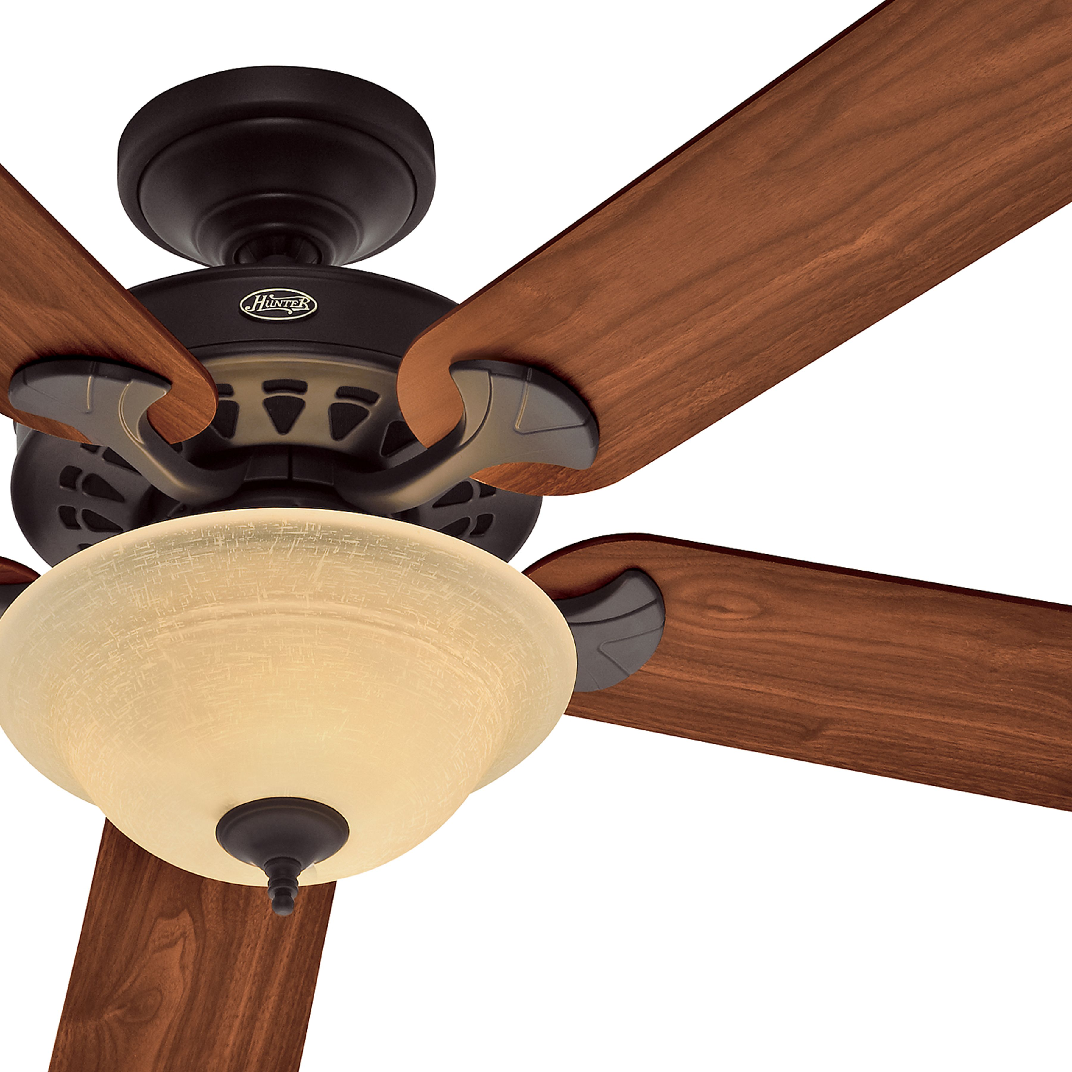 Hunter 52 Inch Energy Star Rated New Bronze Finish Ceiling Fan