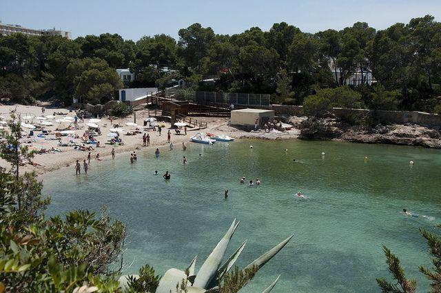 Cala Gracio White Ibiza Ibiza Beach Ibiza Spain Ibiza