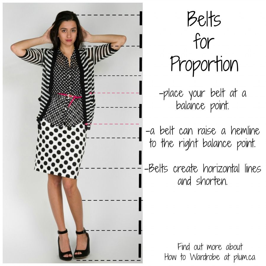 Using The Rules Of Proportion Necklaces And Belts Fashion Fashion Marketing Proportion
