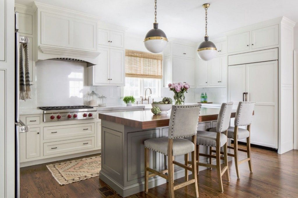 Wednesday Watch List European Farmhouse Kitchen Stools For Kitchen Island Grey Kitchen Island