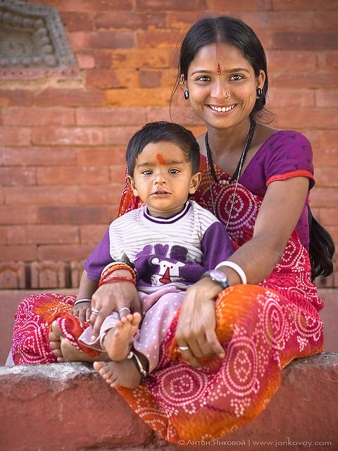 Sunshine Smile by Anton Jankovoy (www.jankovoy.com) Inspite of the lack of basic needs Indians always have a ready smile on their faces. The belief in Karma may be the reason.