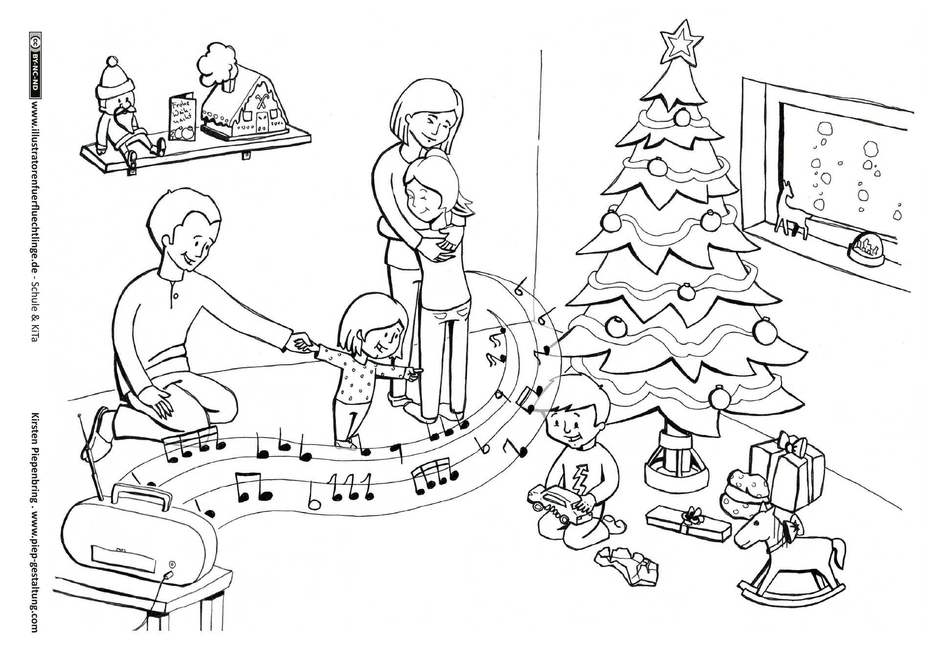 Weihnachten Heiligabend  Weihnachten, Heiligabend, Kinder