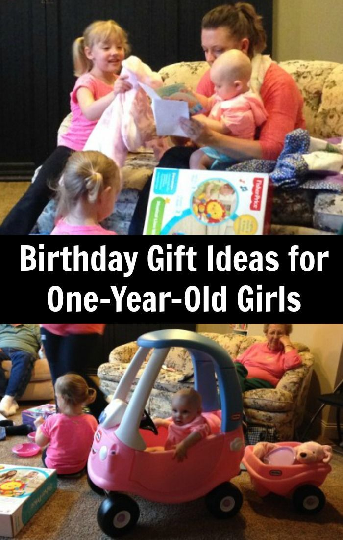 Five Gift Ideas For A Girls 1st Birthday Party Group