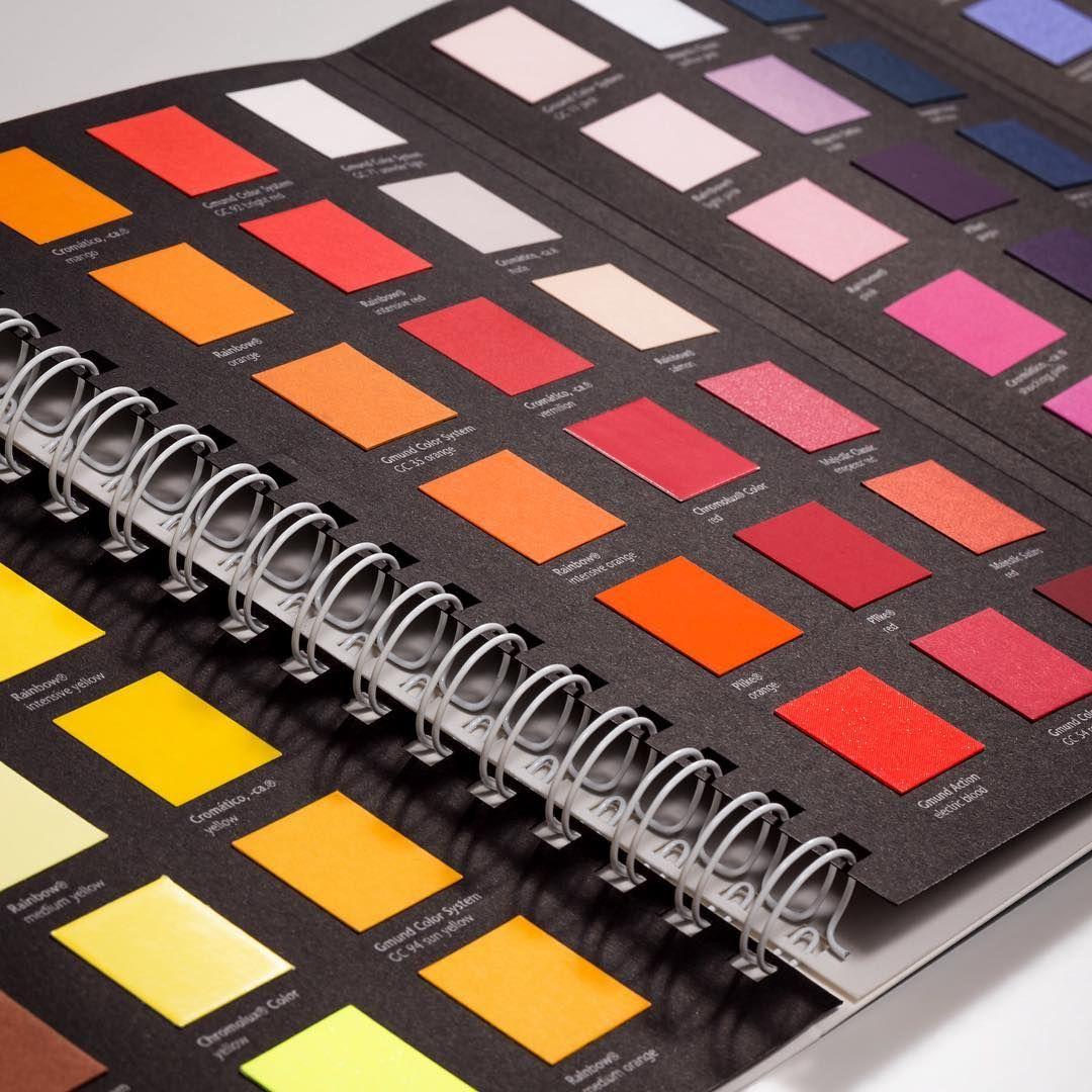 Papyrus Colour Guide - 108 Farben auf einen Blick für eine einfache ...