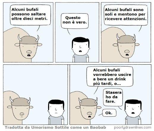 Povero bufalo