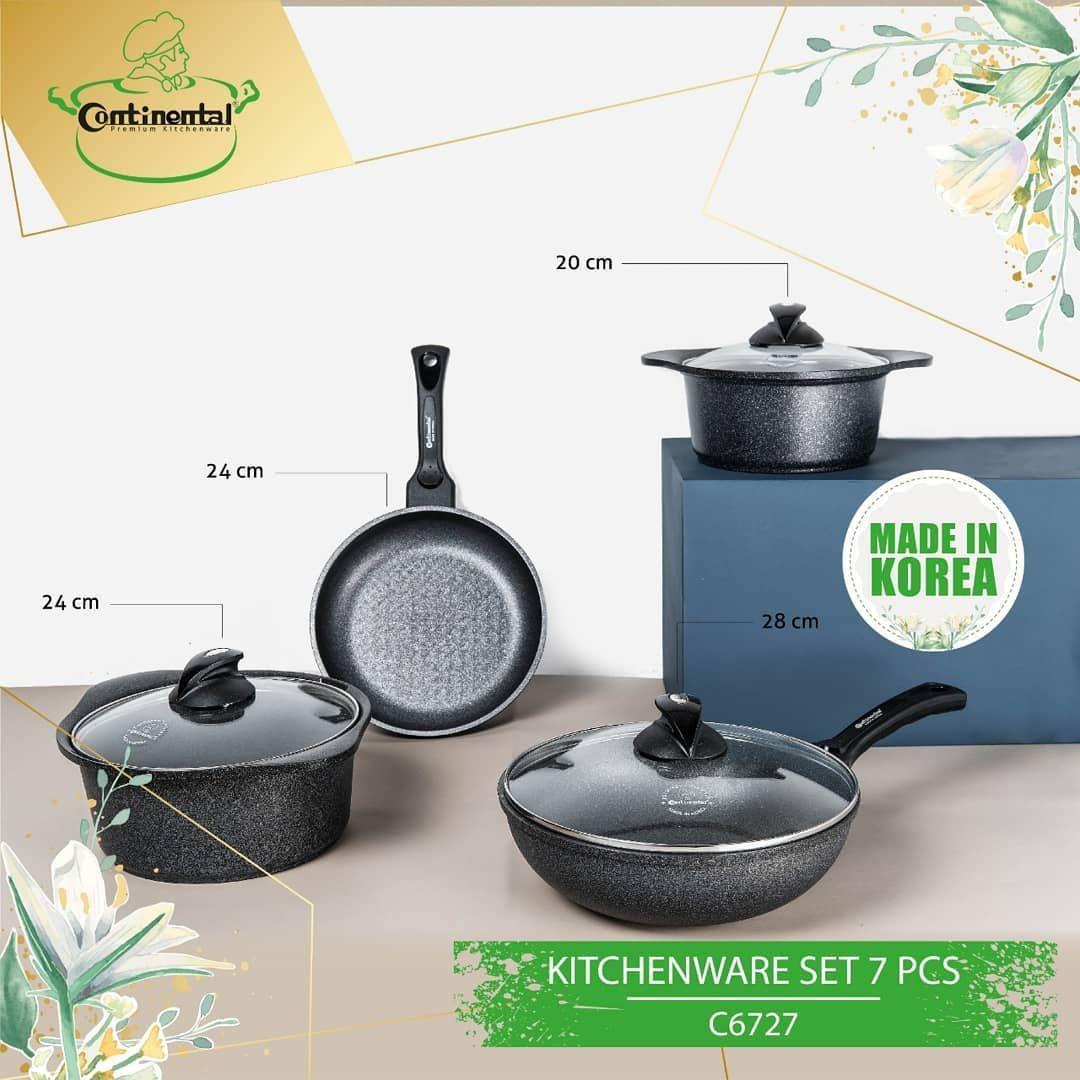 Satu set peralatan masak dengan lapisan Korea 5. Peralatan