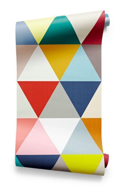 Papier Peint Mosaic Minkani Lab Paper Pinterest Print patterns