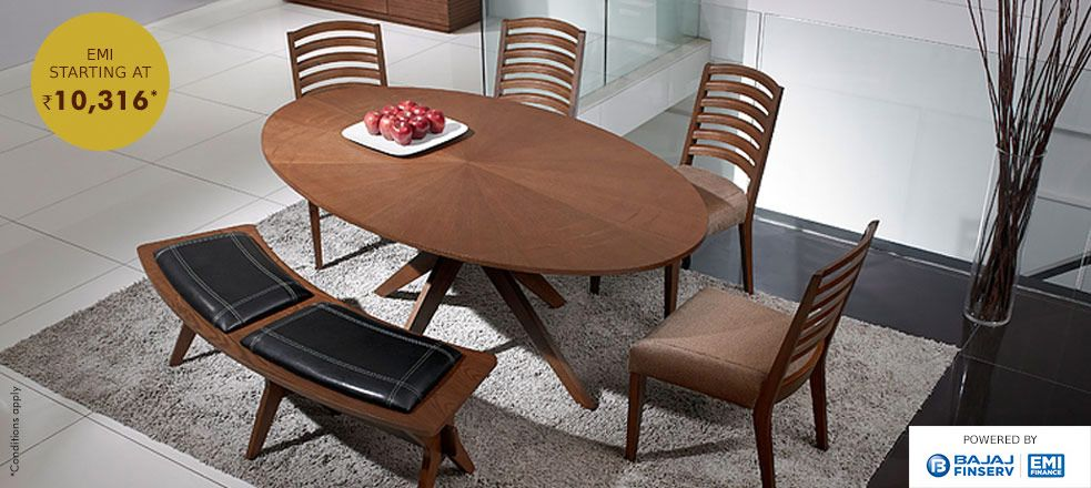 Surely Within Your Reach A 6 Seater Walnut Oval Dining Table With